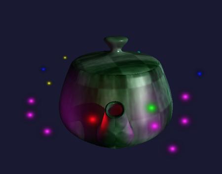 Teapot Rendering Example